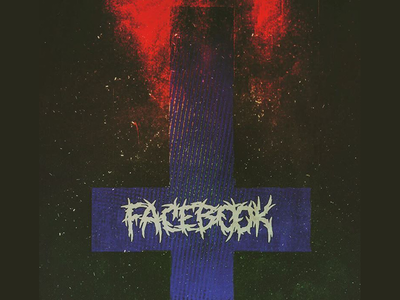 Heavy Metal Tech Branding pt. 3: FACEBOOK VS UPSIDE DOWN CROSS branding facebook tech metal