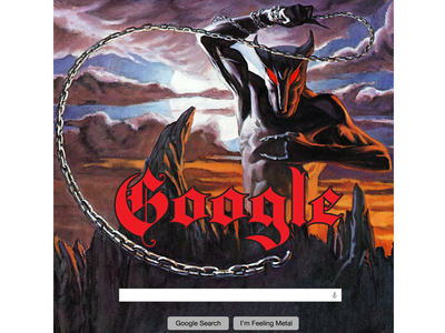 Heavy Metal Tech Branding pt. 4: GOOGLE VS DIO branding google tech metal