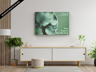 Free Canvas Art Mockup PSD Template canvas art art mockup canvas art mockup canvas art mockup canvas mockup design mock up free mockup psd