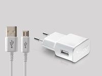 Free White Mobile Charger Mockup | PSD Template Design