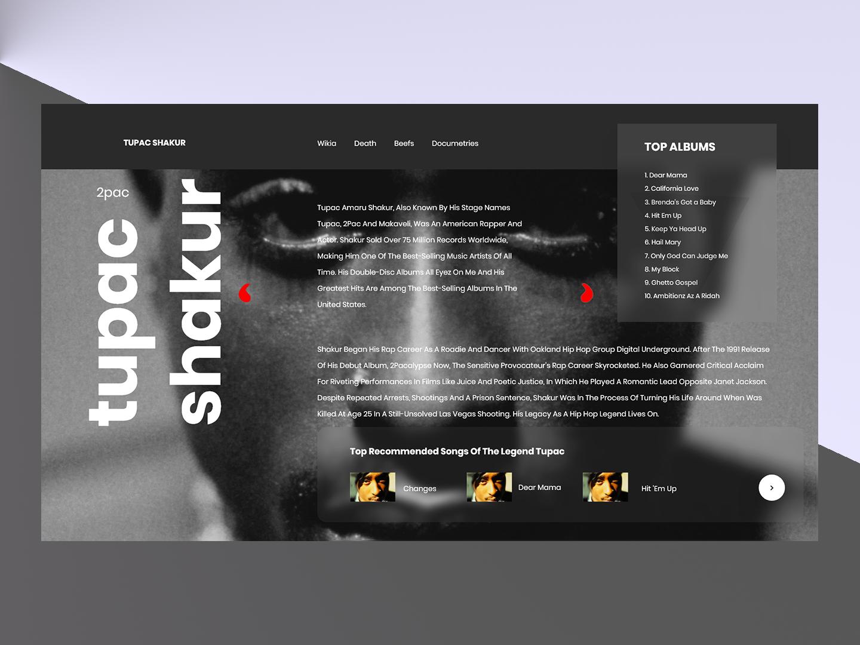 Tupac Shakur 2pac by Prince Singh on Dribbble