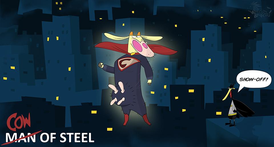 Cow of steel by alecsandru grigoriu medium