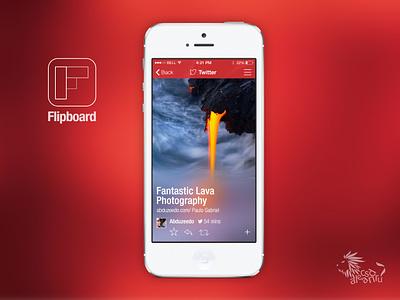 Flipboard iOS7 flipboard ios7 redesign iphone5 user interface