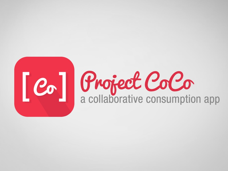 Project CoCo app icon ios coco collaborative consumption