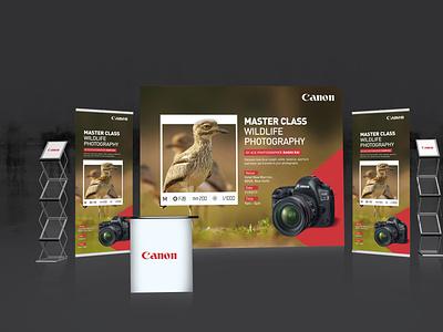 Canon Ui Design graphic branding ui ux design