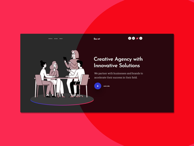 Daily UI concept dark responsive app mobile design web ux interface user ui