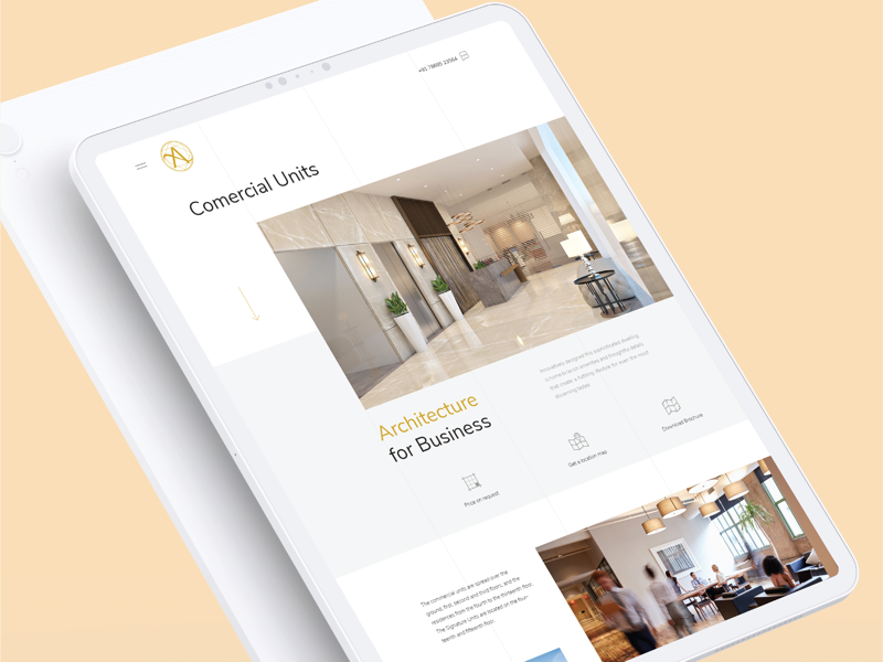 UI concept beautiful concept hotel design web ui ux
