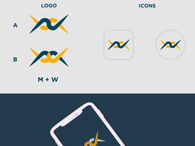 M Plus W Logo