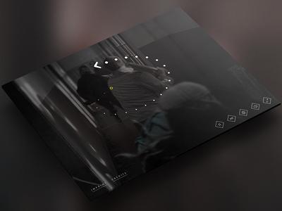 Swipe Game Interface photoshop vector illustrator ipad website interactive swipe arrow zombie tablet ui game