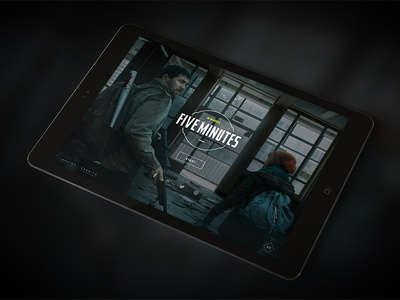 Five Minutes by G-SHOCK finally live! photoshop illustrator vector type flat game interface zombie ipad interactive tablet g-shock