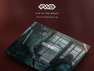 Five Minutes by G-SHOCK - Site of the month!