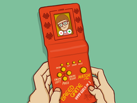 BREED GAME - Your new retro dating console