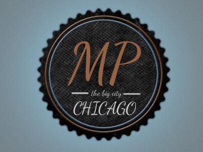 Badge logo for personal website badge logo design colorful retro
