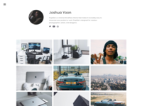 Prophile - Instagram inspired WordPress Theme
