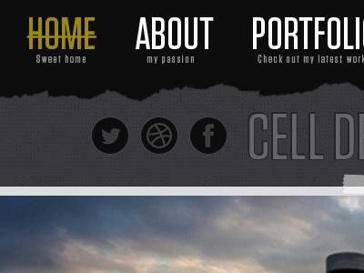 Portfolio Redesign web design development portfolio