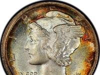 Original mercury coin