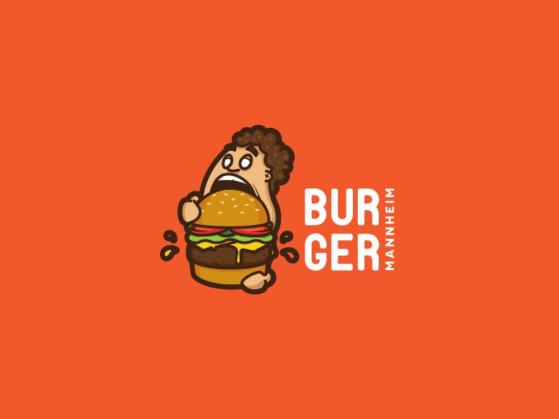 Burger Mannheim fastfood fast scredeck logo hungry mannheim hamburger blog restaurant food gourmet burger