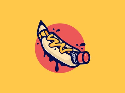 Hot Dog Pencil