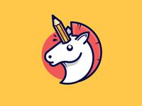 Pencil unicorn
