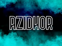 Azidhor typeface
