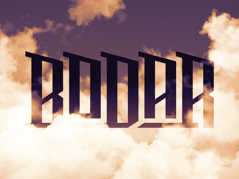 Bodar typeface typography modern display typeface font typo script scredeck