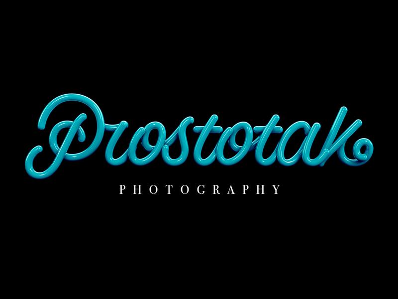 Prostotak 3d cinema4d design logotype branding logo type lettering typography
