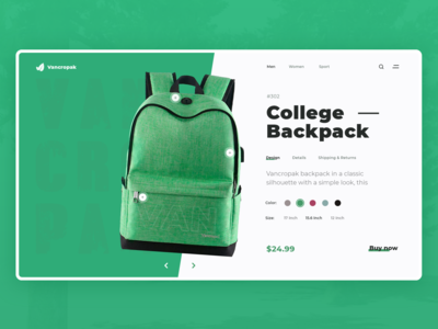 College-Backpack Design