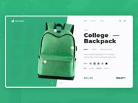 College-Backpack Design