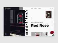 Red Rose - Web-design   Minimal  