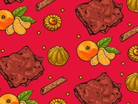 Illustrative Pattern: Chinese New Year Goodies
