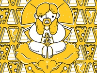 Illustrative Pattern: Almighty Cheesus Christ