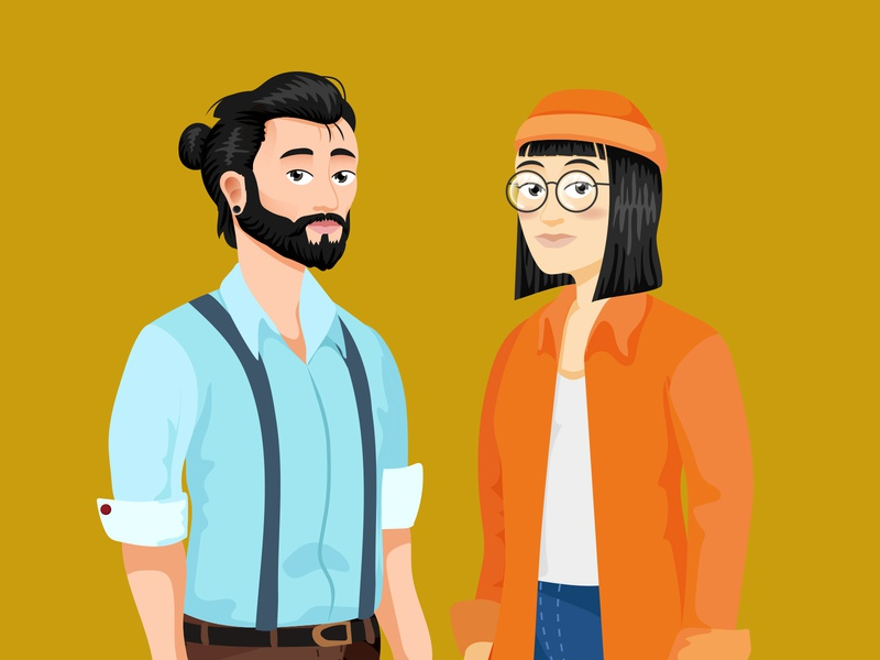 Unused Characters Concept london adobe illustrator digital illustration illustration illustrations characters character