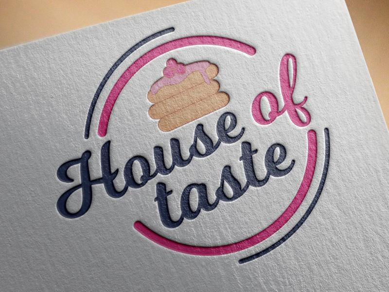 House Of Taste Mockup icon mock-up design vector logo graphic design logo design branding logodesign