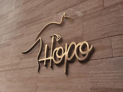 Hopo Logo MockUp