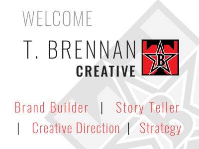T Brennan Creative ready for hire