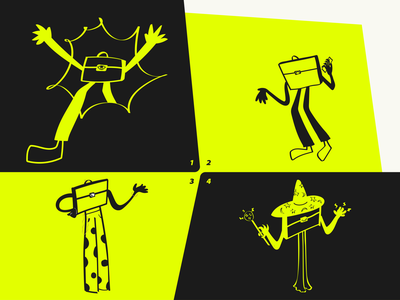 Just some drawings character design illustraion