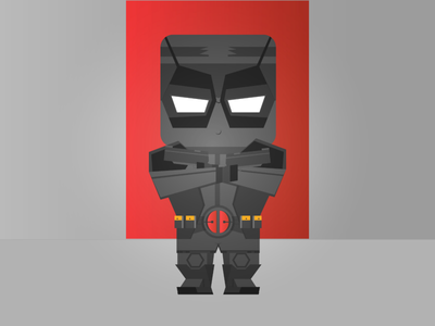 Deadpool Wallpaper Illustration character design deadpool