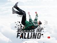 Falling - Double Exposure Effect