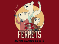 The Three Ferrets by John Claude Lewis