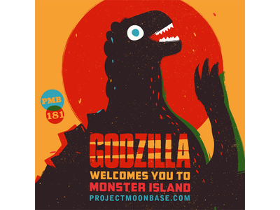 Godzilla Welcomes You to Monster Island