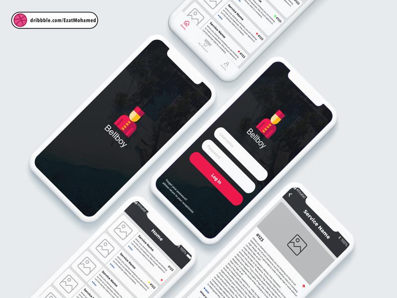 Bellboy mobile app