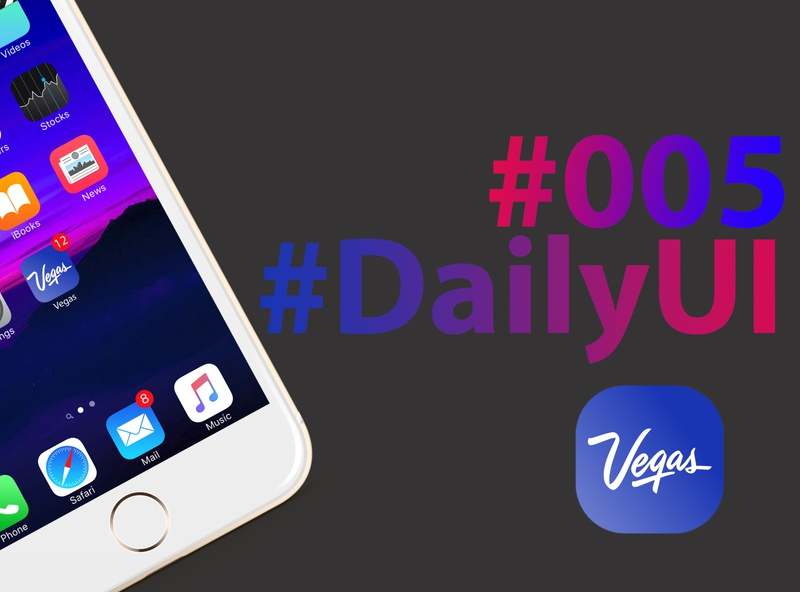 Daily UI challenge #005
