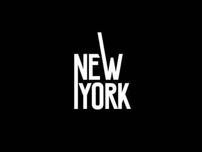 NY logo exploration graphicdesign type newyork logo ny
