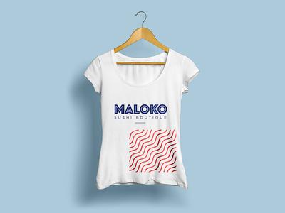 T-shirt sushi house tshirts sushi brand design branding