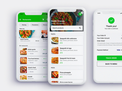 Nobly Delivery app uiux design food react native delivery app