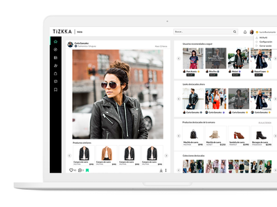 Fashion web app lifestyle young trendy social webapp app fashion