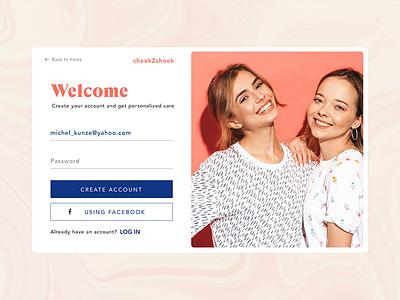Teenage beauty brand log in login login page young fresh teen beauty