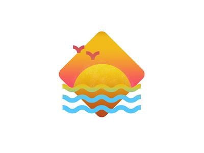 summertime icon summertime sun texrure icon sumer