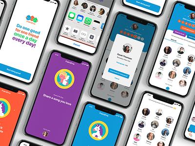 Friendmo app app design ios app design social app ios