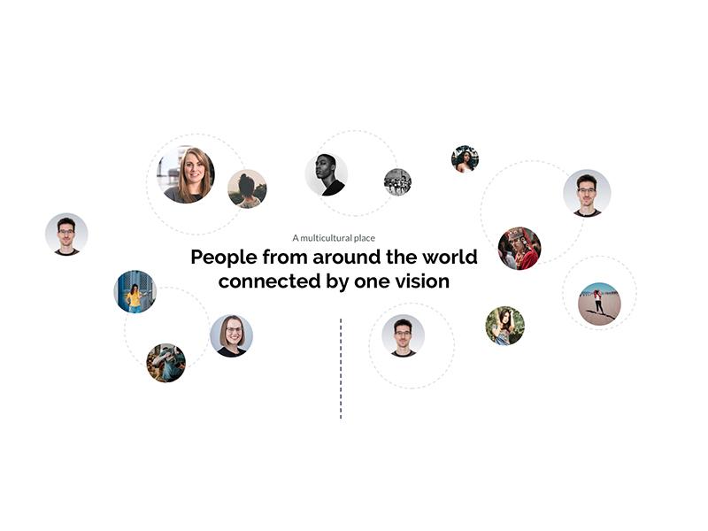 Careers page module web design website people career